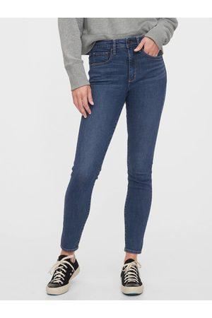 GAP Modré dámské džíny Jegging