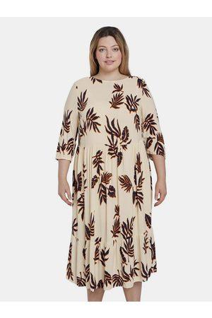 My True Me Tom Tailor Béžové dámské vzorované šaty