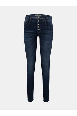 Zabaione Tmavě modré skinny fit džíny