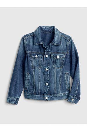 GAP Klučičí dětská džínová bunda denim icon