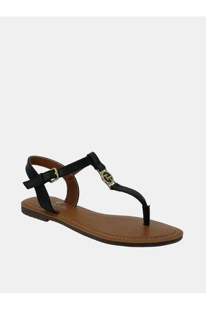 TOM TAILOR Tmavě modré dámské sandály