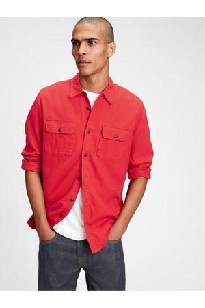 GAP Červená pánská košile