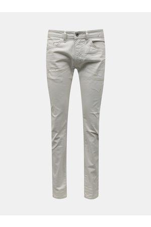 Diesel Bílé pánské slim fit džíny