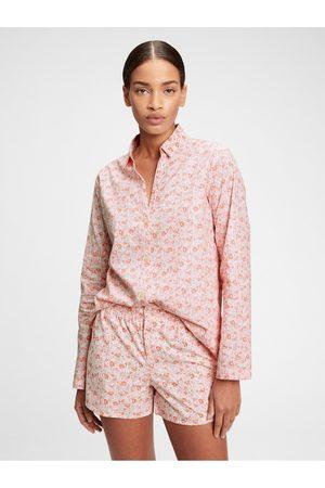 GAP Dámská košile na spaní pajama in poplin