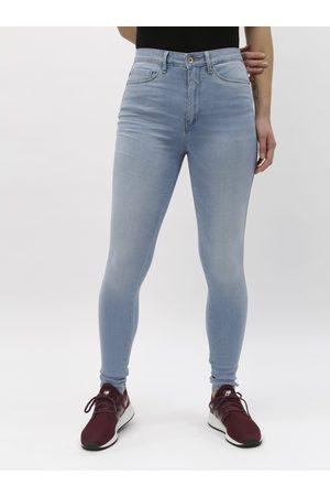 ONLY Světle modré skinny džíny s vysokým pasem Royal
