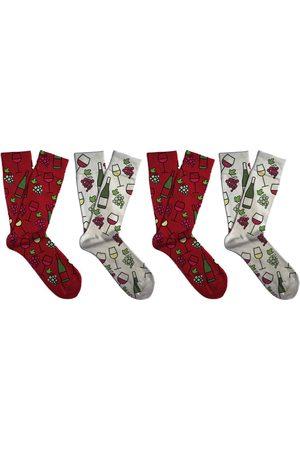 Soxit Vinný dárkový set unisex ponožek
