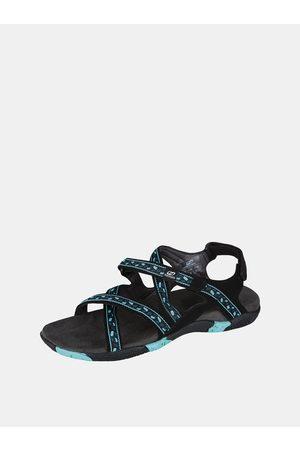 Cubus Modré dámské vzorované sandály