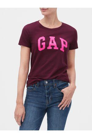 GAP Vínové dámské tričko