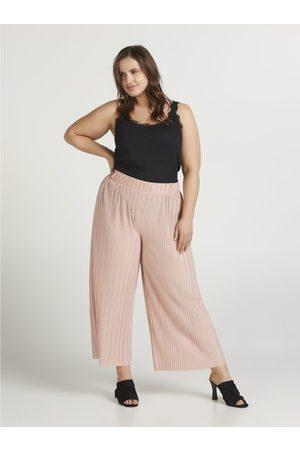 Zizzi Růžové culottes
