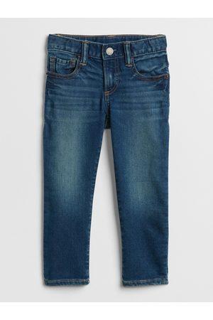 GAP Modré klučičí dětské džíny slim jeans with stretch