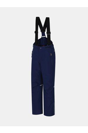 Cubus Tmavě modré klučičí zateplené kalhoty Akita Jr II