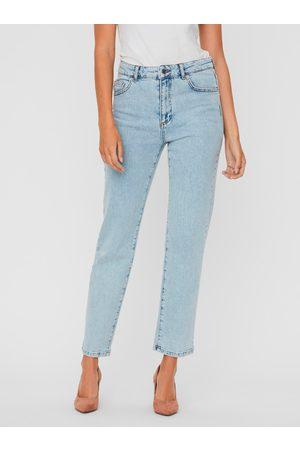 VERO MODA Světle modré straight fit džíny Carla