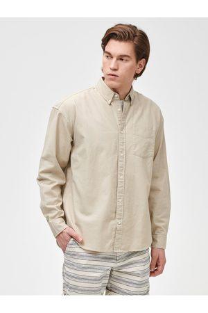 GAP Smetanová pánská košile Oxsford big shirt