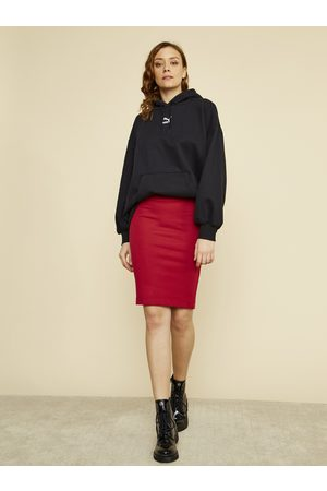 Zoot Červená pouzdrová sukně Victoria