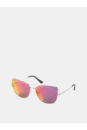 MEATFLY Dámské sluneční brýle ve stříbrné barvě Vision