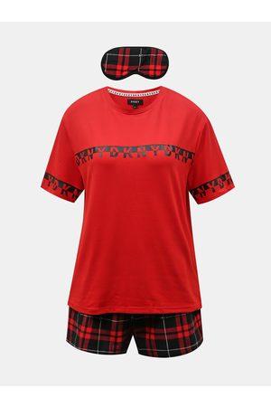 DKNY Červená pyžamová sada