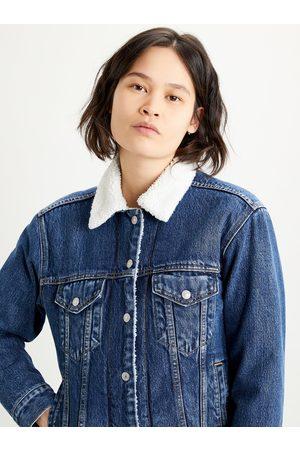 Levi's Dámská džínová bunda s umělým kožíškem