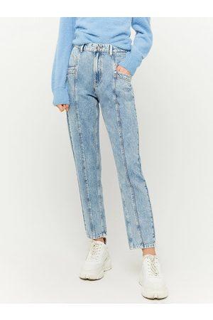 Tally Weijl Světle modré mom fit džíny