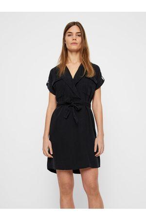 Noisy May Černé košilové šaty Vera