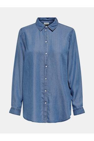 JACQUELINE DE YONG Volná džínová košile Olivia