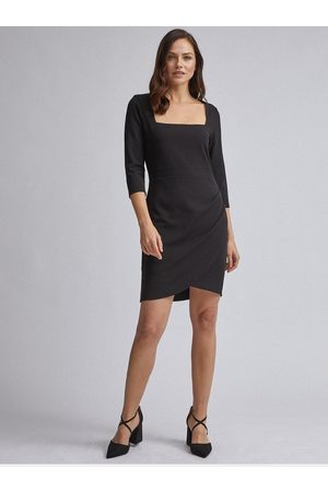 Dorothy Perkins Černé pouzdrové šaty