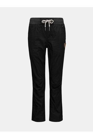 sam 73 Černé klučičí kalhoty se zavazováním