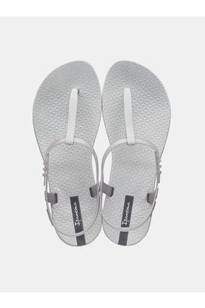 Ipanema Metalické sandály ve stříbrné barvě Class Exclusive