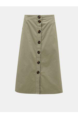 JACQUELINE DE YONG Midi sukně