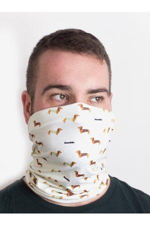 Fusakle Krémový vzorovaný šátek 3v1