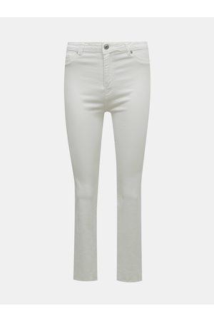 Tally Weijl Bílé flared fit džíny