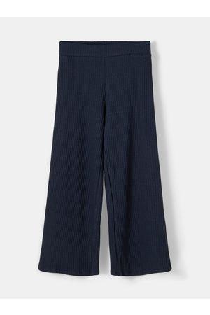 NAME IT Tmavě modré holčičí kalhoty Birka