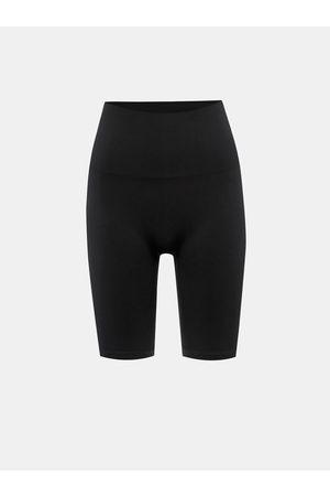 Pieces Ženy Stahovací prádlo - Černé tvarovací kraťasy Imagine