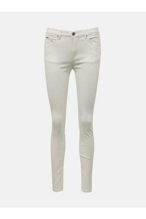 Zabaione Bílé skinny fit džíny