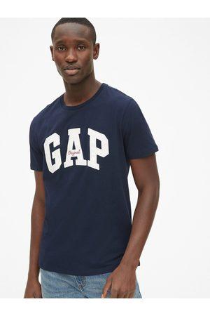 GAP Modré pánské tričko Logo