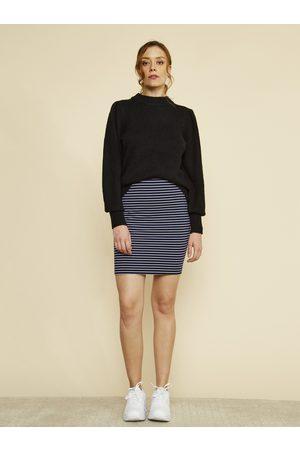 Zoot Pruhovaná pouzdrová basic sukně Adriana