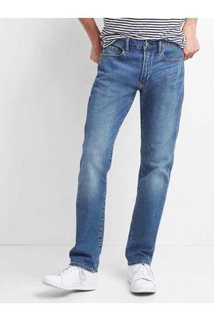GAP Modré pánské slim fit džíny