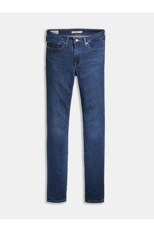 Levi's Tmavě modré dámské skinny fit džíny