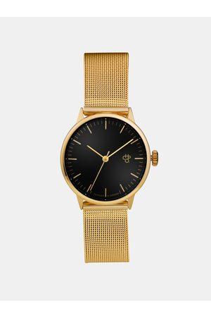 Chpo Dámské hodinky s nerezovým páskem ve zlaté barvě Nando Mini Gold