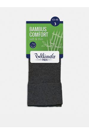 Bellinda Pánské ponožky BAMBUS COMFORT SOCKS - Bambusové klasické pánské ponožky - šedá
