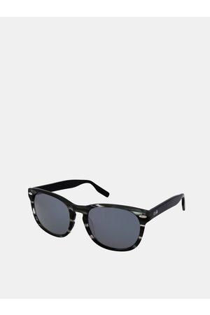 crullé Šedo-černé vzorované sluneční brýle