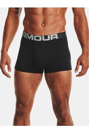 Under Armour Černé boxerky UA Charged Cotton 3in 3 Pack
