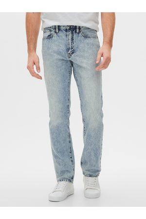 GAP Modré pánské džíny v-straight light rigid
