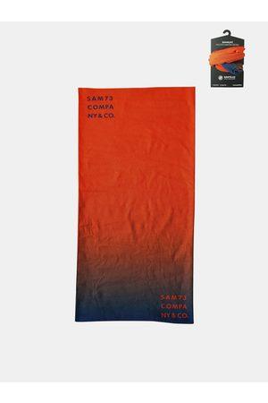 sam 73 Oranžový multifunkční šátek