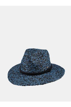 Barts Modrý dámský slaměný klobouk
