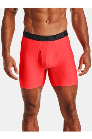 Under Armour Červené boxerky UA Tech 6in 2 Pack
