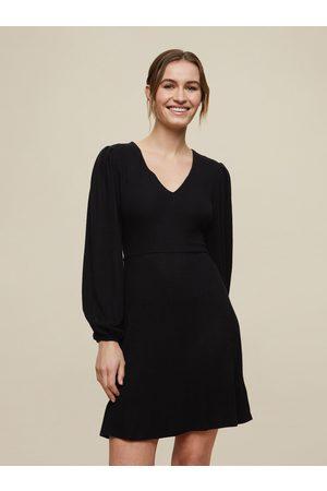 Dorothy Perkins Černé šaty se zavazováním na zádech