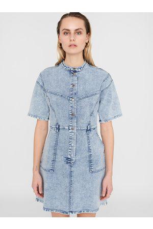Noisy May Světle modré džínové šaty Amy