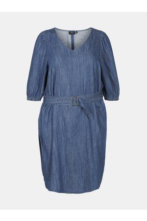 Zizzi Modré šaty