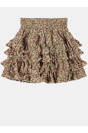 NAME IT Holčičí květovaná sukně