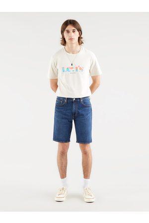 Levi's Modré pánské džínové šortky